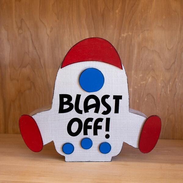 Blast Off! Rocket Ship