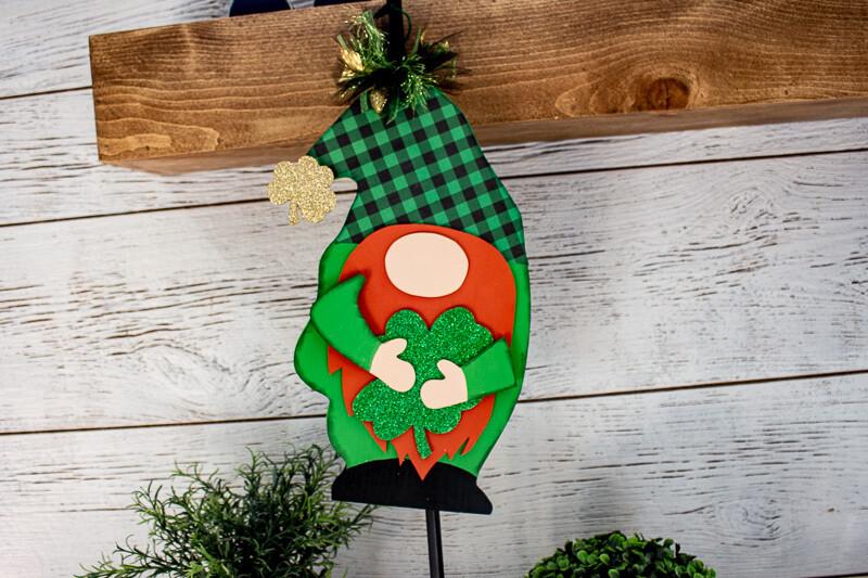 Hanging Leprechaun Gnome