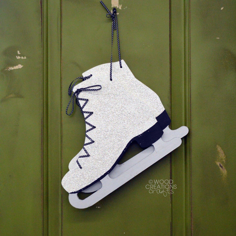 Hanging Ice Skates