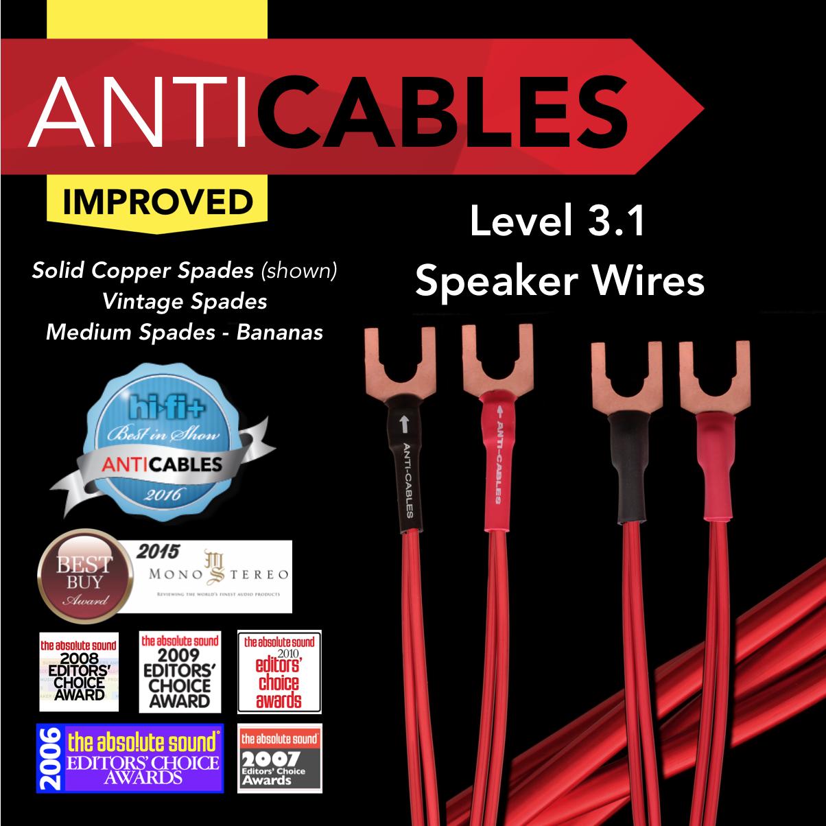 Level 3 1 Speaker Wires