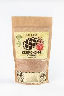 Кедрокофе Юниор на натуральных молочных сливках с сахаром 250г