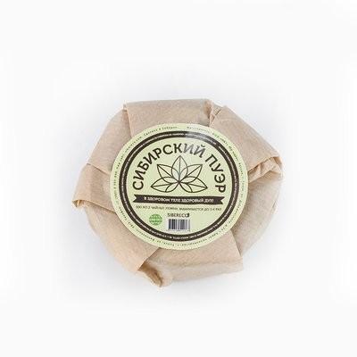 Сибирский Пуэр из сибирского ферментированного иван-чая (зелёный листовой) 45г