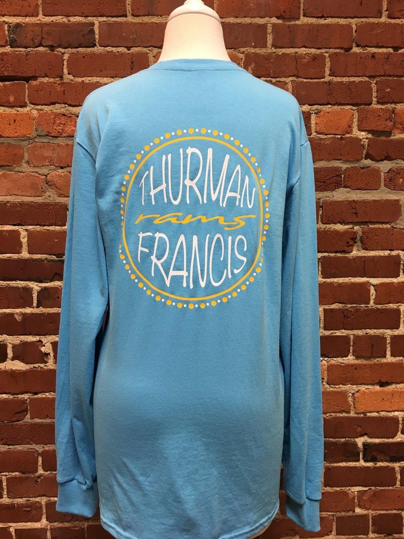 T-shirt Thurman Francis Rams, aqua, A3XL