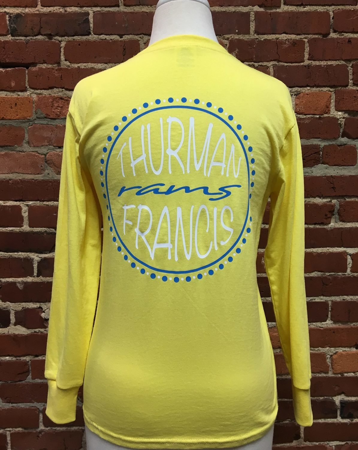 T-shirt Thurman Francis Rams, yellow, YM