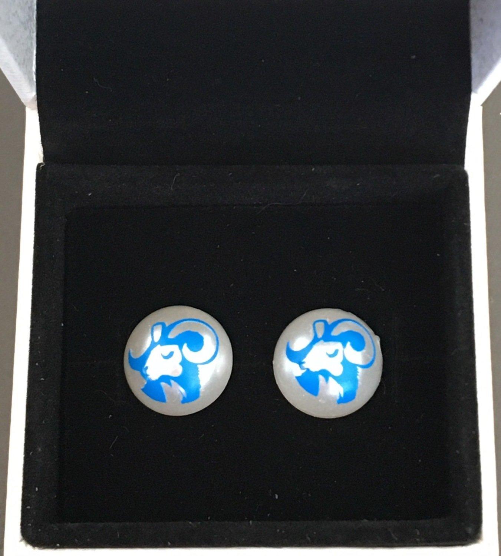 Ram earrings