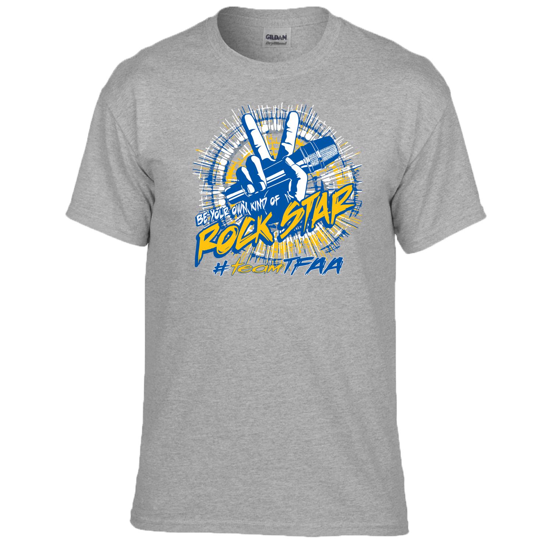 T-shirt Ram Run Be Your Own Kind Of Rock Star, A2XL