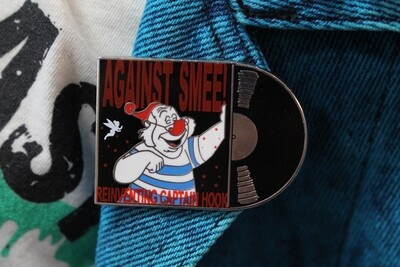 Against Smee Parody Pin