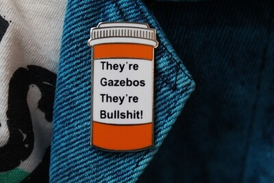 They're Gazebos Pin
