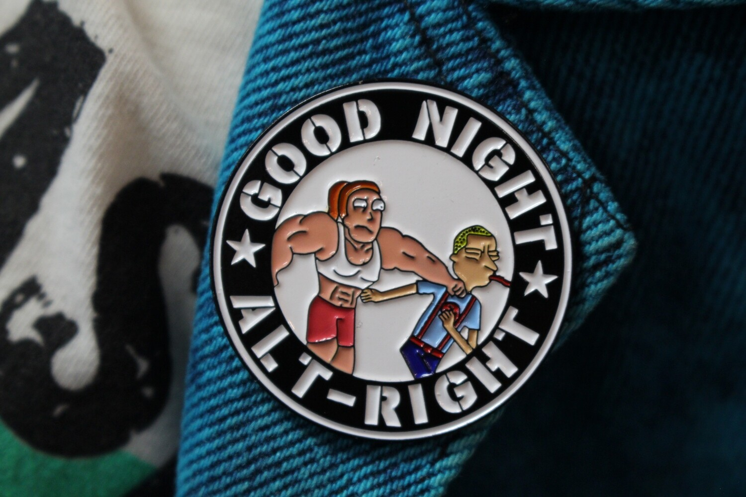 Summer Good Night Alt-Right Pin