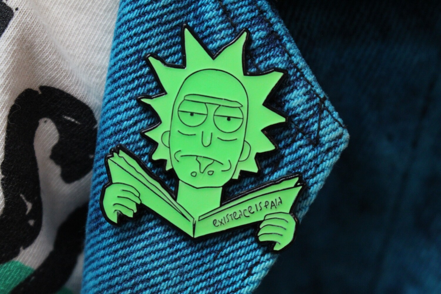 Rick Existence is Pain Pin
