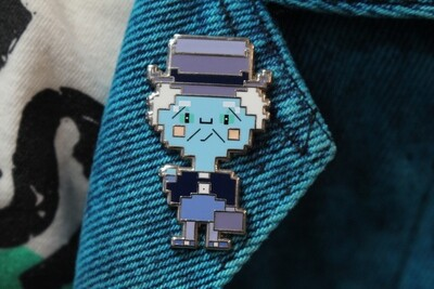8-Bit Phineas Haunted Mansion Ghost Pin