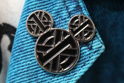 CRASS Mickey Ears Pin