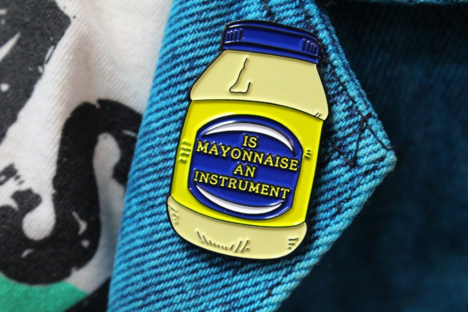 Is Mayonnaise an Instrument? Pin