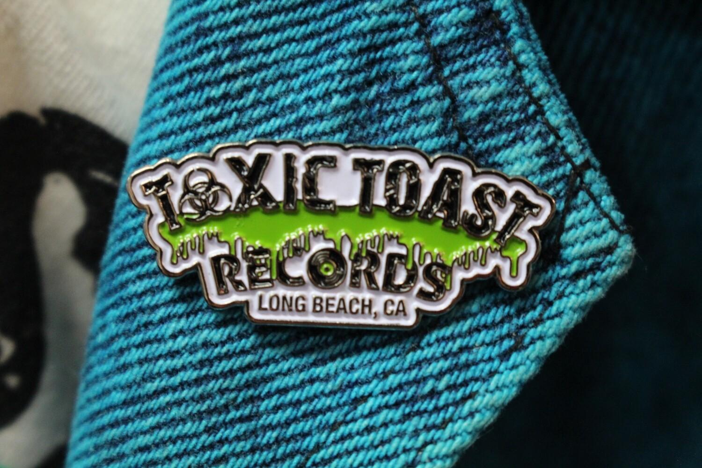 Toxic Toast Records Pin