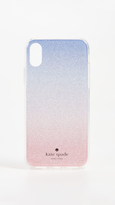 reputable site a0eba fc48e Kate Spade New York Sunset Glitter Ombre iPhone X Case