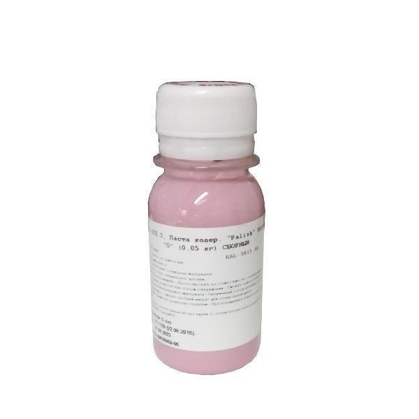 """Светло-розовый краситель """"Полимер-О"""" Palizh 50 грамм"""