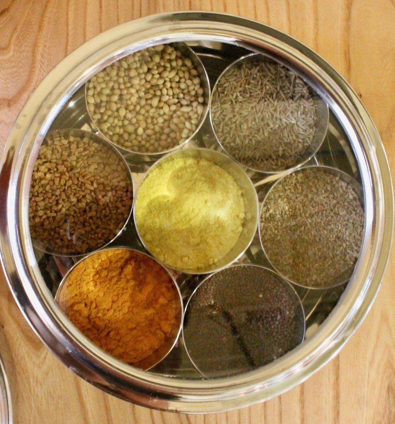 Ayurvedic Cooking Spice Box 01