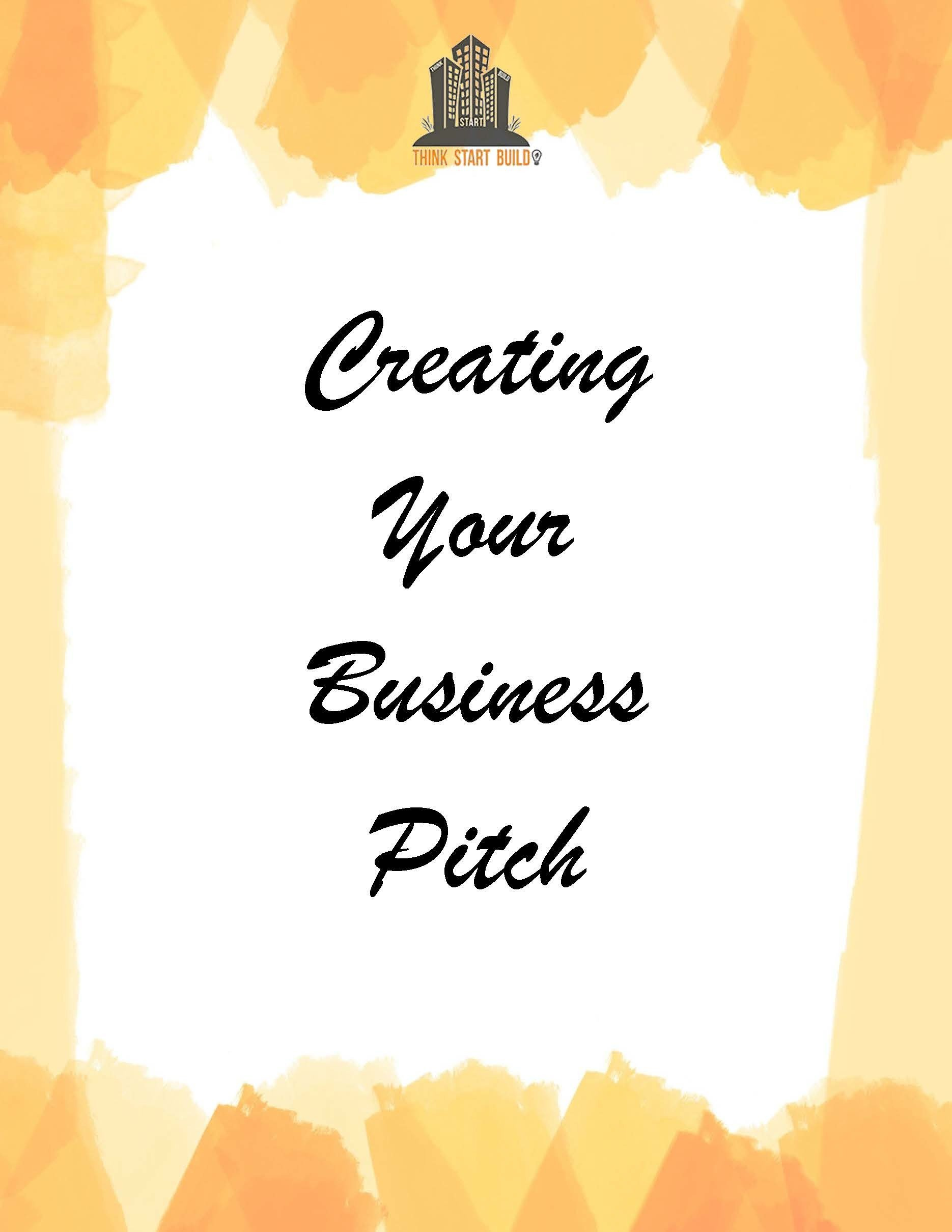 Make your Business Pitch p0001
