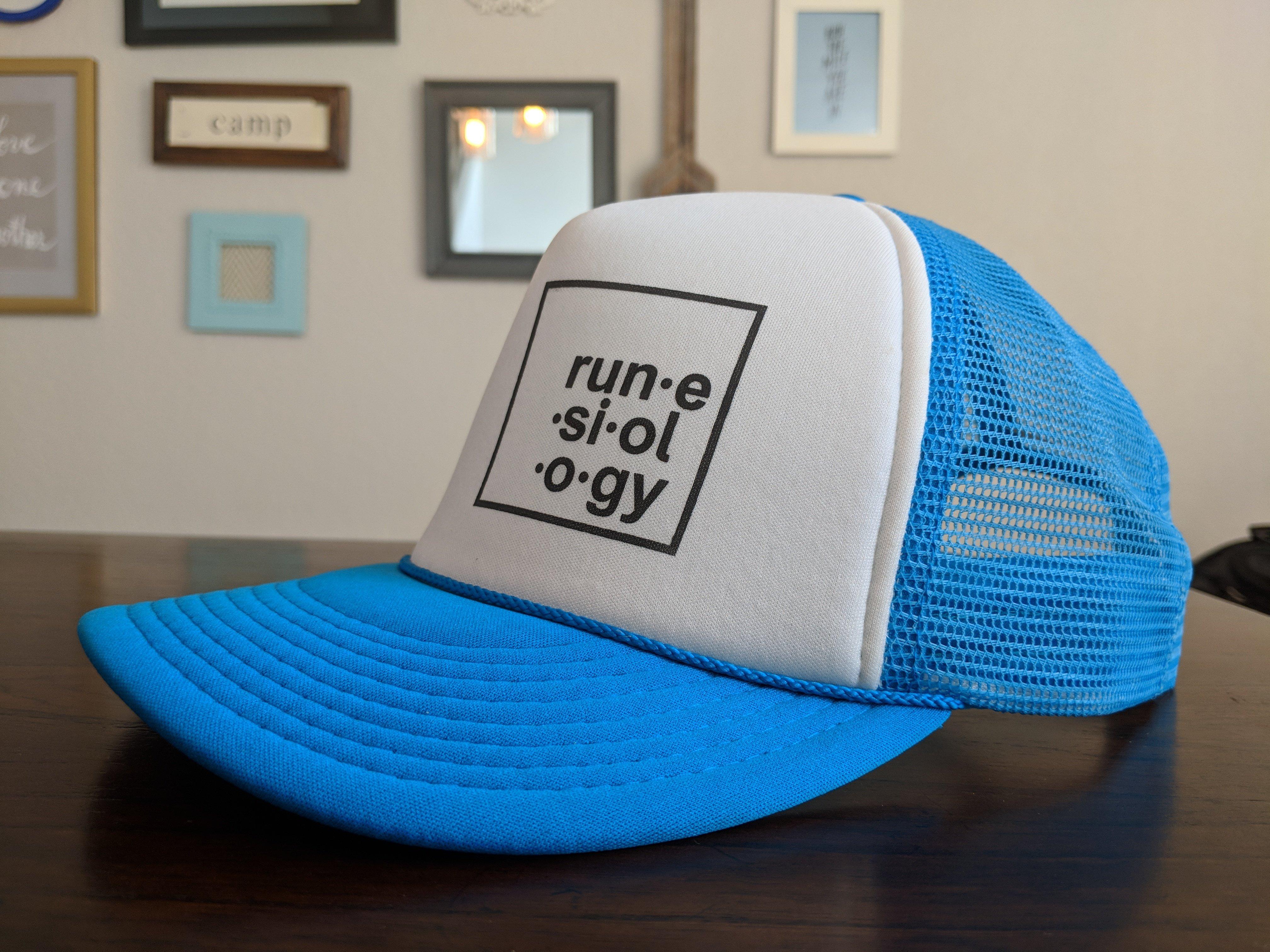 Blue Foam Trucker Hat 00000