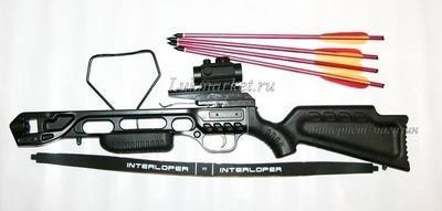 Арбалет рекурсивный Ek Jag 2 Pro (Скорпион 2) черный (c комплектацией)