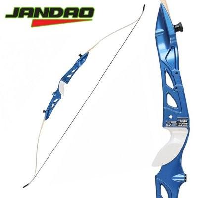 Лук классический Jandao (Олимпик) синяя рукоять/белые плечи