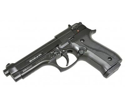 Охолощенный пистолет Beretta B92-СО, 10ТК  (матовый черный)