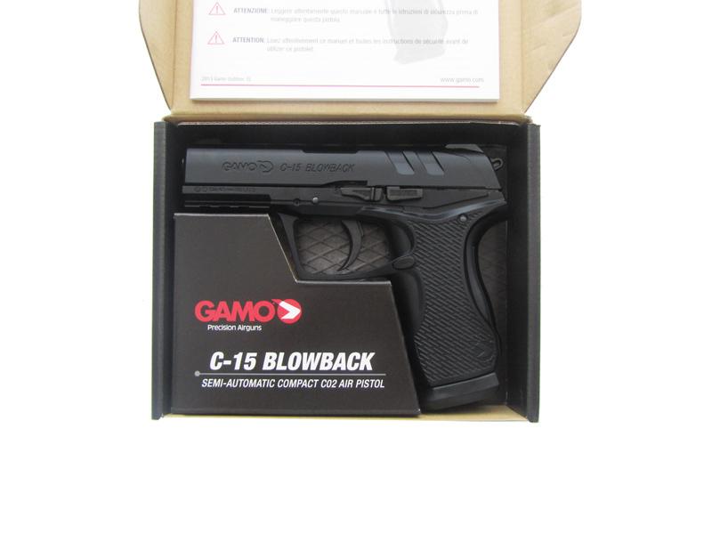 Пистолет GAMO C-15 Blowback
