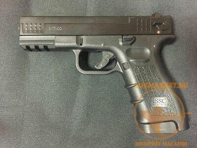 Охолощенный пистолет К17-CO, 10ТК (черный)