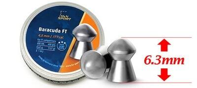 Пули пневматические H&N Baracuda FT (4,5 мм, 0.62, 400 шт)