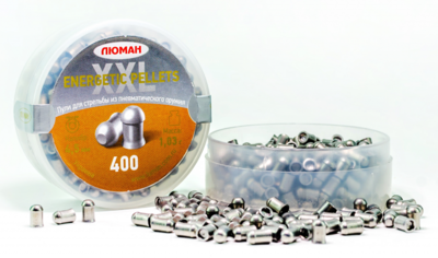 Пули пневматические Люман Energetic pellets XXL (400 шт, 4,5 мм, 1,03 г)