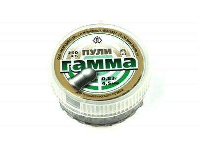 Пули пневматические Гамма (150 шт, 4,5 мм, 0,83 г)