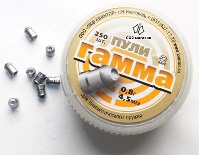 Пули пневматические Гамма (150 шт, 4,5 мм, 0,8 г)