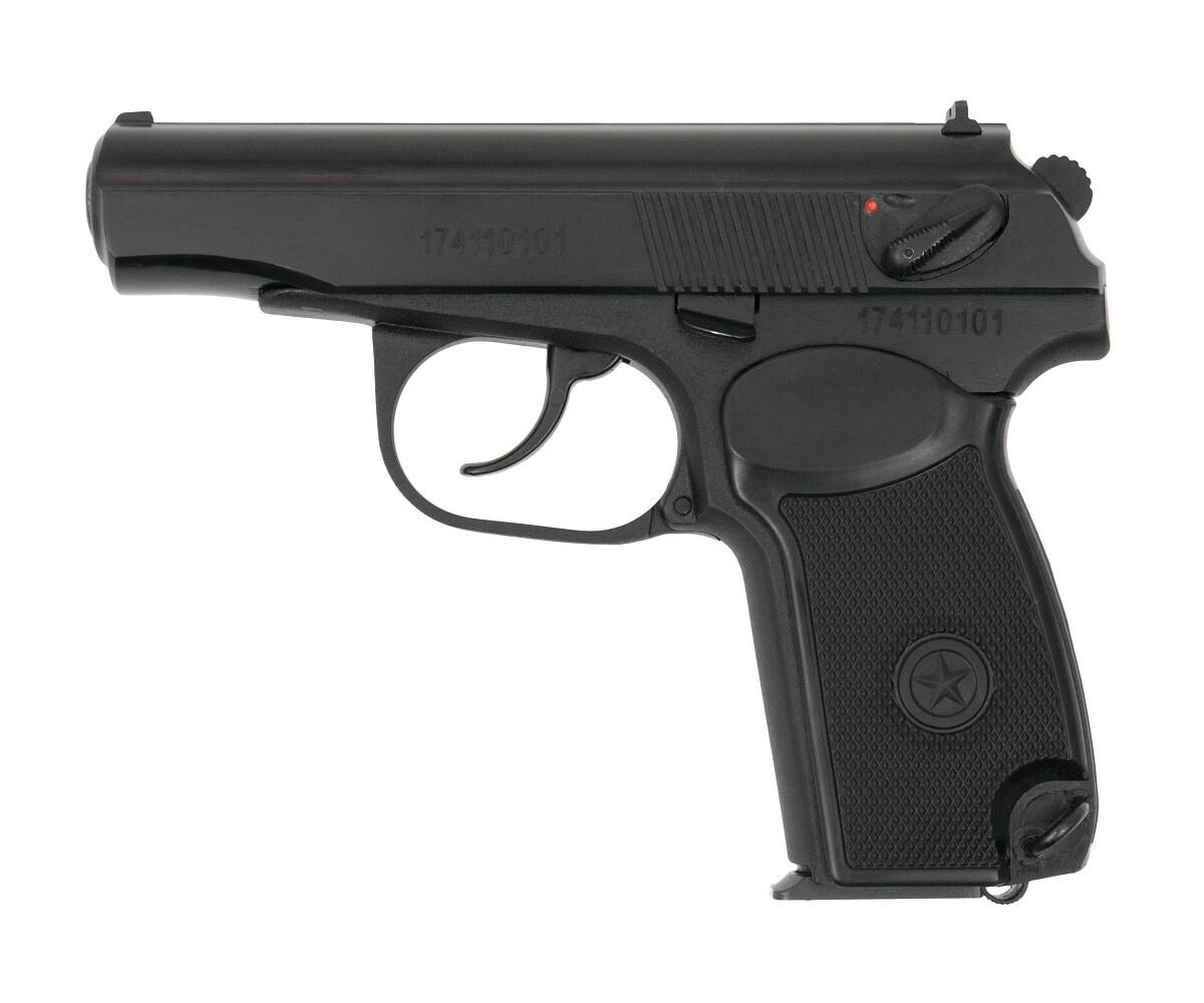 Охолощенный пистолет Р-411-02, 10ТК (кованый затвор)