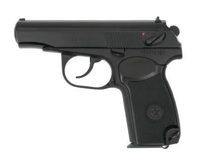 Охолощенный пистолет Р-411-02, 10ТК (кованный затвор)