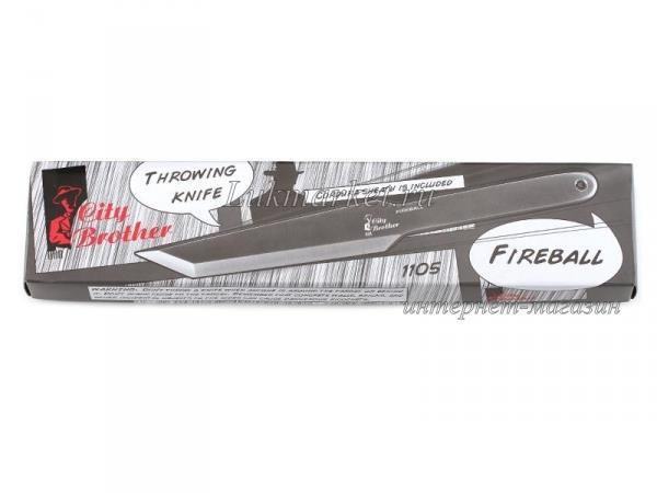 Нож метательный City Brother 1105 Fireball