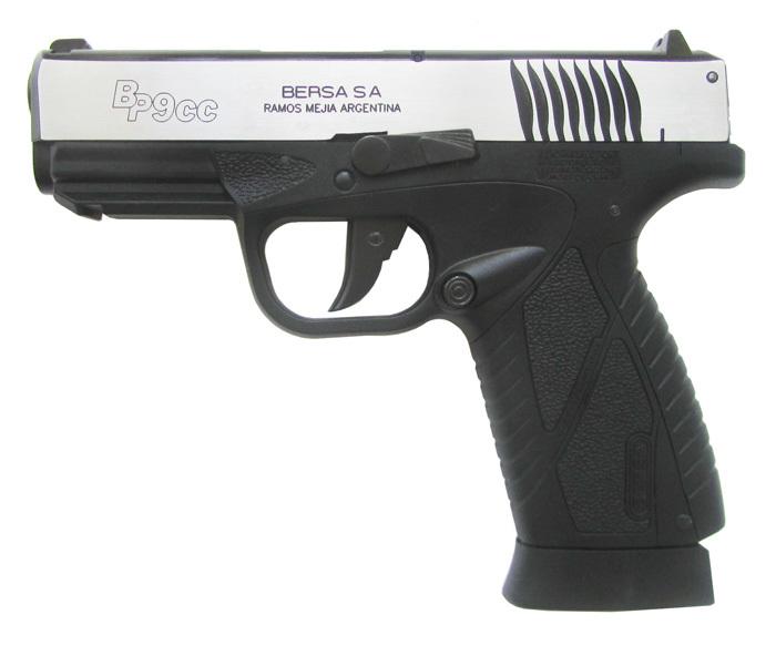Пистолет ASG BERSA BP9CC Blowback (металл-серебро)