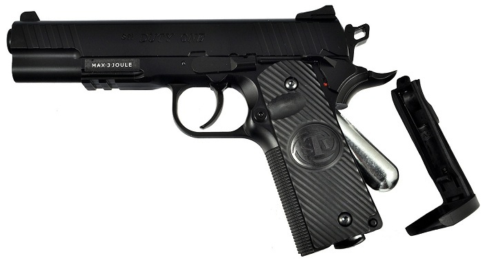 Пистолет ASG Sti Duty One Blowback