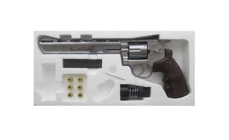 Револьвер ASG Dan Wesson 8 Silver