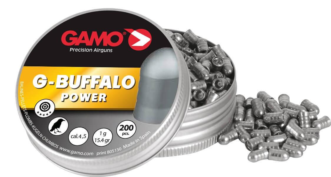 Пули пневматические Gamo G-Buffalo (200 шт, 4,5 мм, 1 г) 00570