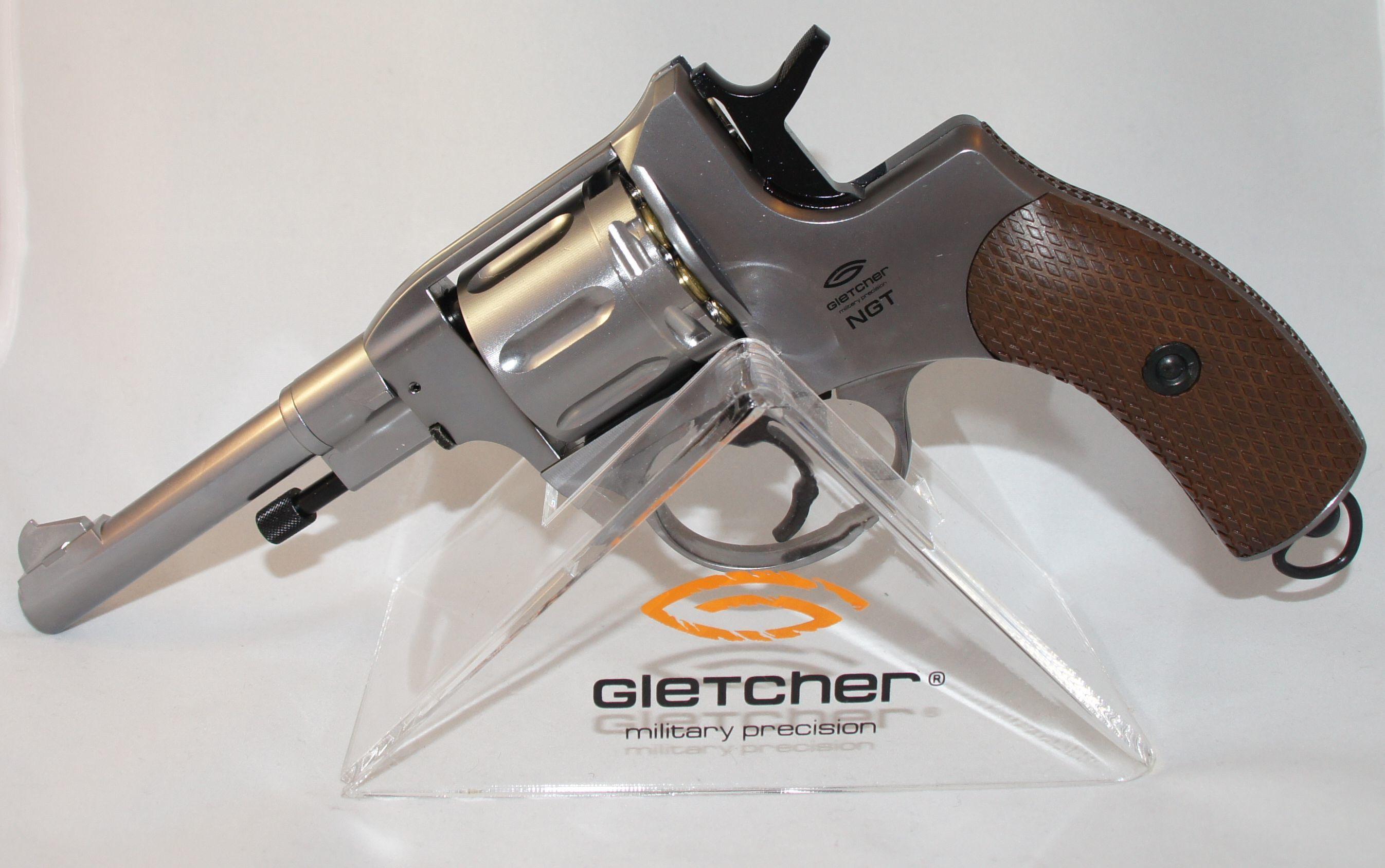 Револьвер Gletcher NGT F Silver 00394