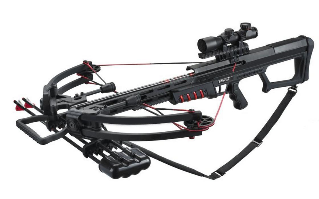 Арбалет Man Kung MK-400 (черный, полная комплектация) 00314