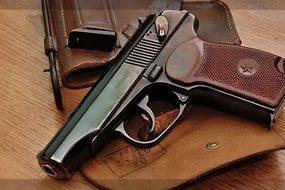 Пистолет охолощенный Макаров-СО, 10ТК ш01551