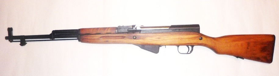 Оружие списанное охолощенное СКС (ВПО-927) ш01554