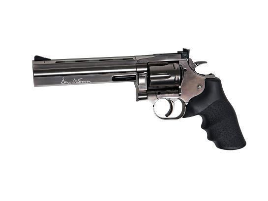 Револьвер ASG Dan Wesson 715-6 steel grey (пулевой) 01569