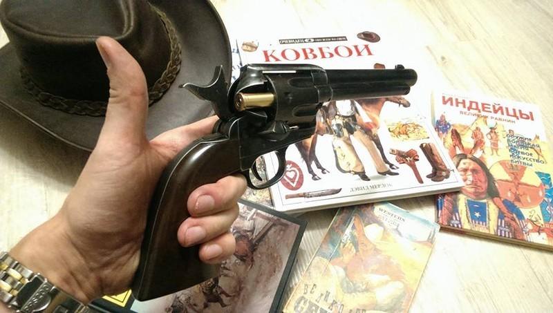 """Револьвер Umarex Colt Single Action Army (SAA) .45 Antique, пулевой (5,5"""")"""