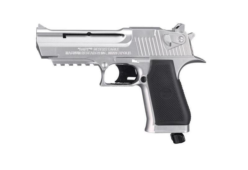 Пистолет Umarex Baby Desert Eagle (никель) ag01599