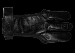 Напальчник традиционный (черная кожа) L