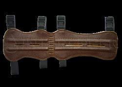 Крага охотничья 33 см (кожа)