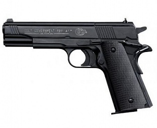 Пистолет Umarex Colt Government M1911 A1 Dark OPS
