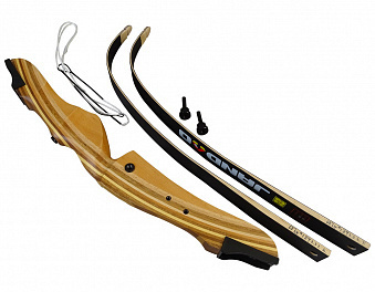 Лук классический Jandao Beginner (черные плечи) LH (для левши)